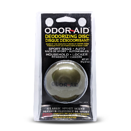 Odor-Aid deodorizing discs - Sport extreme scent (gold) (Pre-Pac of 12)