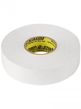 6 of pack white cloth tape (24mm x 25m)