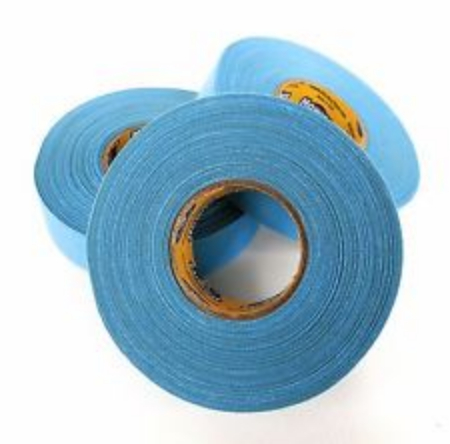 Pack of 6 Coloured Cloth Tape (24mm x 25m) - Baby Blue