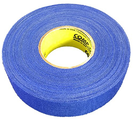 Pack of 6 Coloured Cloth Tape (24mm x 25m) - Royal Blue