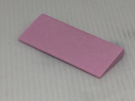 2.5x1-1/8 tapered hone stone pink