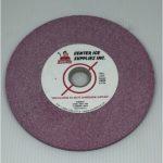 "Ruby Blend 60 Grit 5 3/4"" x .281"" x 3/4"" Dupliskate Grinding Wheel"