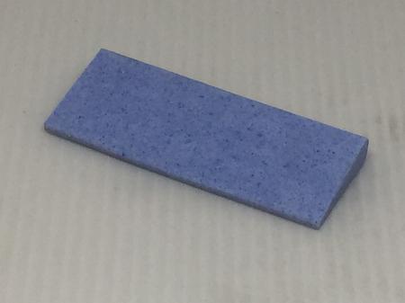 2.5x1-1/8 tapered hone stone blue